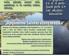 Apginkime Salotės ežerą muzika