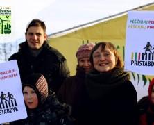 Žalieji spaudžia naują Vilniaus valdžią: pėsčiųjų gyvybės svarbiau nei Žaliojo tilto skulptūros